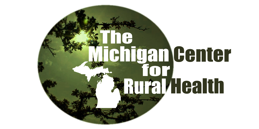 Image result for michigan center for rural health logo